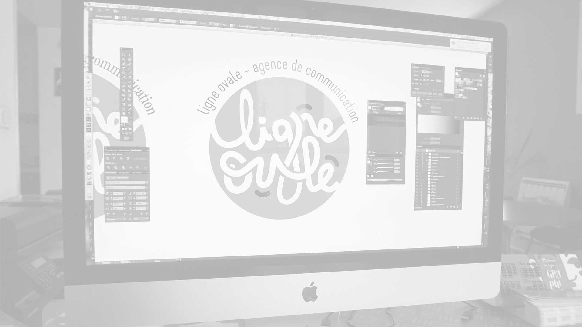 création-graphique-agence-de-communication-rhone-alpes Ligne ovale