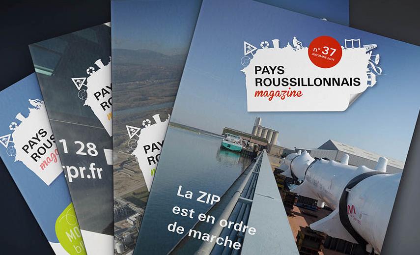 magazine d'information De la Communauté de Commune du Pays Roussillonnais, page intérieure