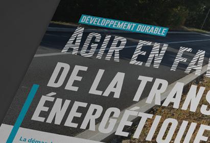 Magazine d'information Communauté de Commune Entre Bièvre et Rhône, Terre d'énergies, Couverture