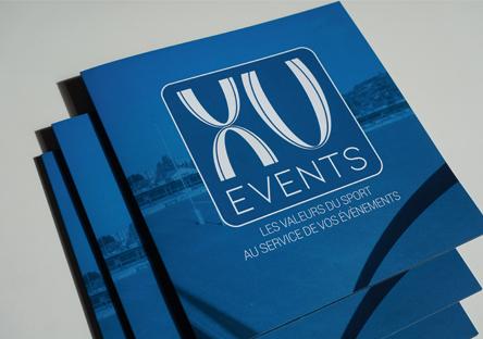 Couverture de la plaquette XV events