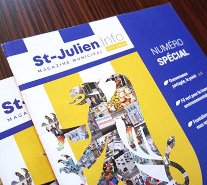 Bulletin Municipal de la Ville de Saint-Julient en Genevois