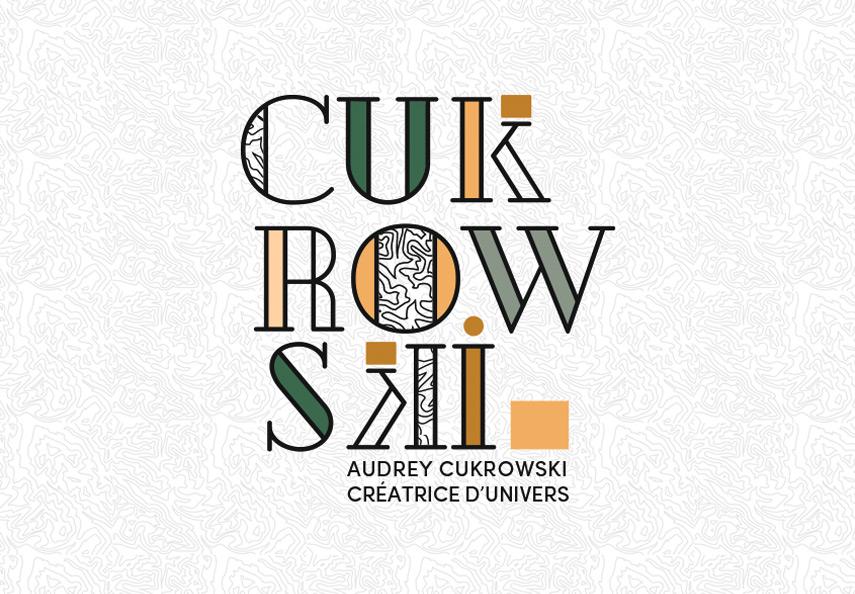Audrey Cukrowski, logo, décoratrice d'intérieur,