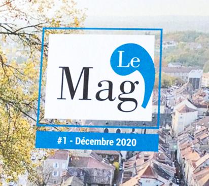 magazine municipal de Crémieu pour les habitants, logo du magazine